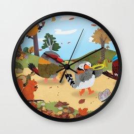 Bird Band Wall Clock