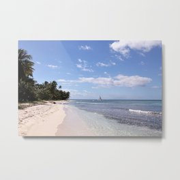 Stranded on Paradise Metal Print