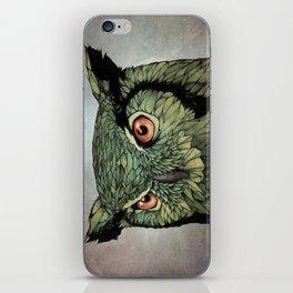 Owl - Red Eyes iPhone Skin