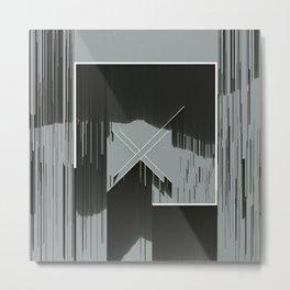 Glitch art Metal Print