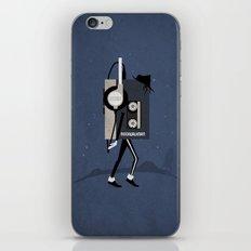Moonwalkman iPhone & iPod Skin