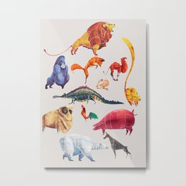 Animal kingdom Metal Print