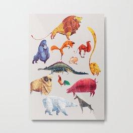 Animal kingdom Metal Print