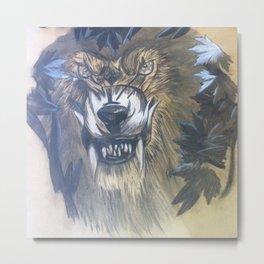 Worgen Fan Art Metal Print