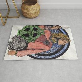 Cu Chulainn Celtic Design Rug