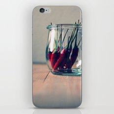 sweet chili  iPhone & iPod Skin