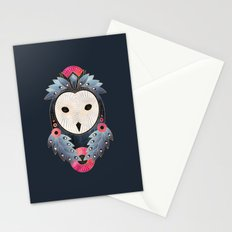 Owl 1 - Dark Stationery Cards