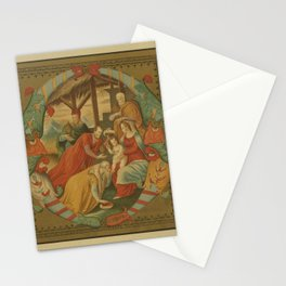 Manuscript Print - Palaeography (1894) - Adoration of the Magi, from an Italian Chorale, 1540 Stationery Cards