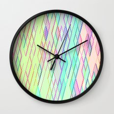 Re-Created Vertices No. 0 by Robert S. Lee Wall Clock