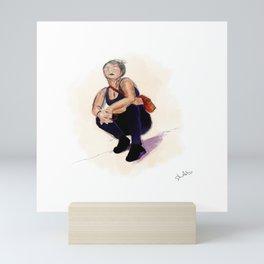 Pose Up Mini Art Print