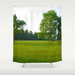 In Deep Silence Shower Curtain