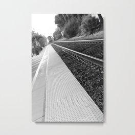Ventura Train Station Metal Print