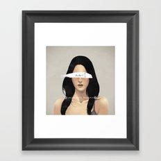 The Uncertainty Principle Framed Art Print