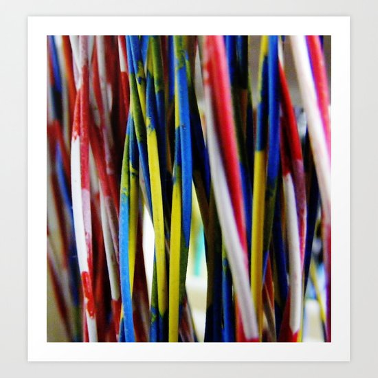 wired3 Art Print