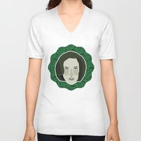 dana scully V-neck T-shirts featuring Dana Scully by Kuki