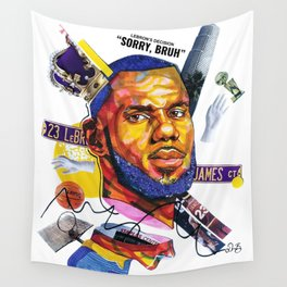 The New Laker Wall Tapestry