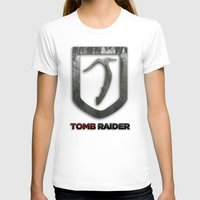 tomb raider T-shirts featuring Tomb Raider by Liquidsugar