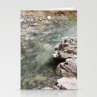 allyson johnson Stationery Cards featuring Johnson Canyon rocks by RMK Creative