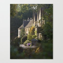 Not the manor Canvas Print