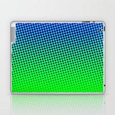 80's grade blue Laptop & iPad Skin