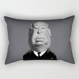 Alfred Hitchcock Rectangular Pillow
