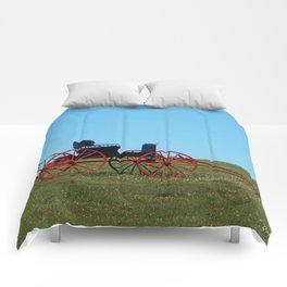 Horse Drawn Wagon Comforters