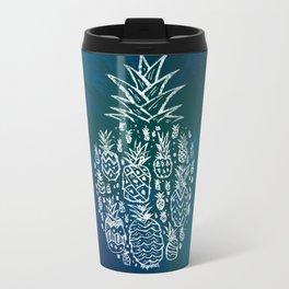 Pineapple Fields Forever Metal Travel Mug