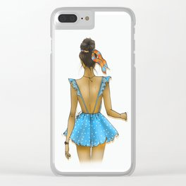 Back Dress Clear iPhone Case
