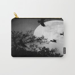 Haunting Moon & Trees Carry-All Pouch