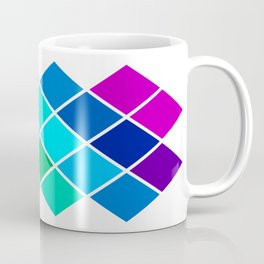 Tetrahedral Rainbow Coffee Mug