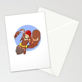 Squirrel Girl Stationery Cards
