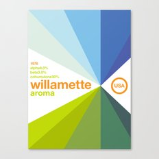 willamette//single hop Canvas Print