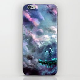 Water Temple in the Sky iPhone Skin