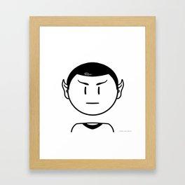Star Trek: Mr. Spock Framed Art Print