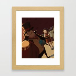 The Wealthy Man Framed Art Print