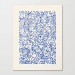 Reality Inbetween Canvas Print