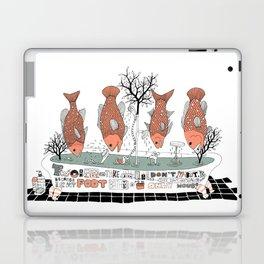 Bathtub Laptop & iPad Skin