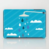 shower iPad Cases featuring shower  by mark ashkenazi