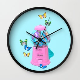 Butterfly Dream Wall Clock