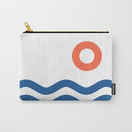 Nautical 02 Seascape Carry-All Pouch