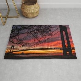 Sunrise at the Bridge Rug