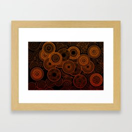 Electric Cooking Framed Art Print
