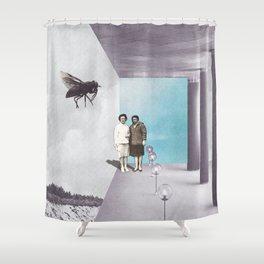 La mouche Shower Curtain