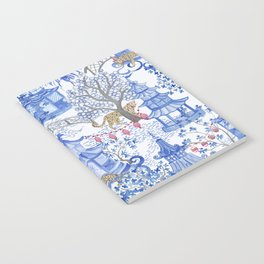 Party Leopards in the Pagoda Forest Notebook