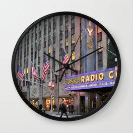 Radio City Music Hall, NYC Wall Clock