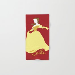 Belle from Beauty and the Beast Hand & Bath Towel