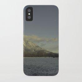 snow elk iPhone Case