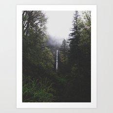 Latourell Falls, OR Art Print