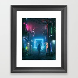 XEON SQUARE (everyday 11.28.17) Framed Art Print
