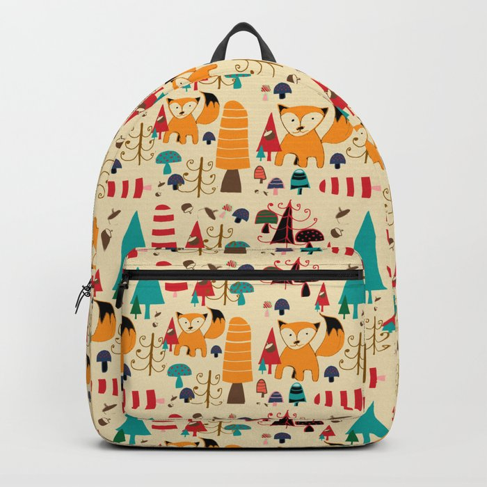 woodland fox Backpack